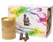 Goloka Backflow Incense Cones - Buddha - (6 Pack)
