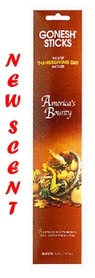 Gonesh Extra Rich Incense - America's Bounty Incense