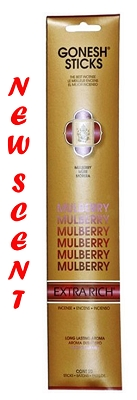 Gonesh Extra Rich Incense - Mullberry (Berry Berry) Incense