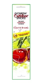 Gonesh Cherry Bomb Outdoor Incense - 20 Incense per Pack