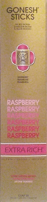 Gonesh Extra Rich Incense - Raspberry Incense