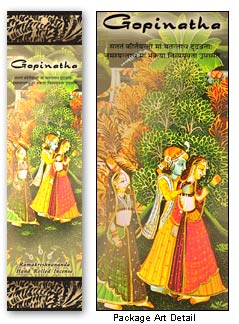 Prabhuji's Gifts Incense - Gopinatha (10 Sticks; Iris Flower & Jasmine)