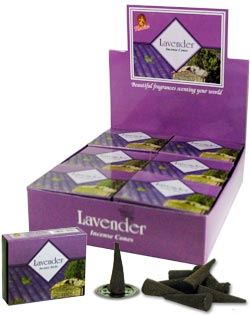 Kamini Cones - Lavender - 10 cones/box - Case of 12
