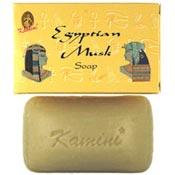 Kamini Soap - Egyptian Musk Soap - 100g, 12/Box