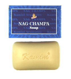 Kamini Soap - Nag Champa Soap - 100g, 12/Box