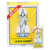 Laxmi Dhoop 8 Sticks Per Box, 12 Box Pack