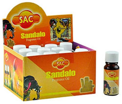 Sandesh (SAC) Aroma Oil 10ml - 1/3 Fl. Oz. (12/Box) - Sandal