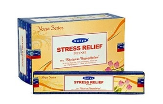 Satya Incense - Stress Relief - 15gr [ 12/BOX ]
