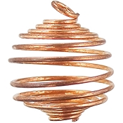 Tumbled Stone Cage Empty Copper (6 Pack)