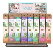 Auromere - Aromatherapy Incense Pre-pack Display - (96 bundles - 8 Scents)
