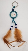 Light Blue Dreamcatcher Key Chain (Dozen)