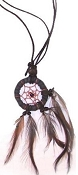 Black Dreamcatcher Necklace (Dozen)