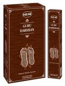 HEM  Masala Incense Guru Darshan- 15 Gram Box [12/Box]
