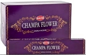 HEM  Masala Incense Champa Flower - 15 Gram Box [12/Box]