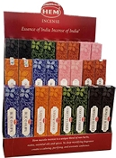 HEM  Masala Incense Display - 72 Packs - [6 Scents]