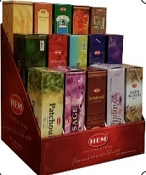 HEM Incense Display (W/15 Scents)