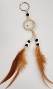 Tan Dreamcatcher Key Chain (Dozen)