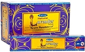 Satya Incense - Natural Lavender - 15gr -12/Box