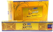 Satya Incense - Natural Sandal - 15gr -12/Box