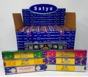 Satya Natural Scents 15gram Display (84 packs)