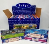 Satya Popular Scents 15gram Display (84 packs)