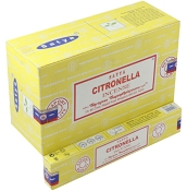 Satya Incense - Citronella - 15gr -12/Box