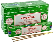 Satya Incense - Patchouli - 15gr -12/Box