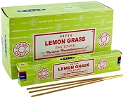 Satya Incense - Lemongrass - 15gr -12/Box