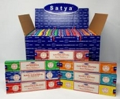 Satya Nag Champa Scents 15gram Display (84 packs)