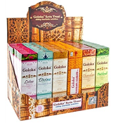 Goloka - Premium Series Incense Display Set - 72 Packs