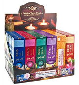 Goloka - Reiki Series Incense Display Set - 72 Packs