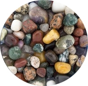 Terrarium/Aquarium Natural Gemstone Mix [Half Pound]