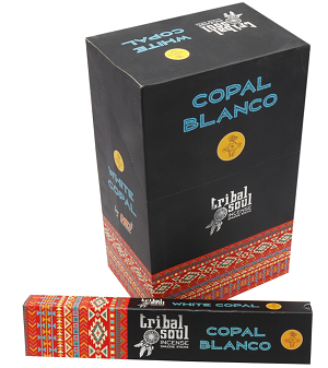 Tribal Soul - Copal Masala Incense - 15 Sticks Pack - (12/Box)