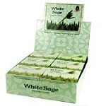 Kamini Cones - White Sage - 10 cones/box - Case of 12