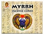 Kamini Cones - Myrrh - 10 cones/box - Case of 12