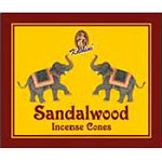 Kamini Cones - Sandalwood - 10 cones/box - Case of 12