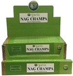 Organic Nag Champa Incense Sticks - 100 gram 6/Box