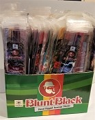 "Blunt Black Display - 11"" (72 Packs of 12 Stick)"